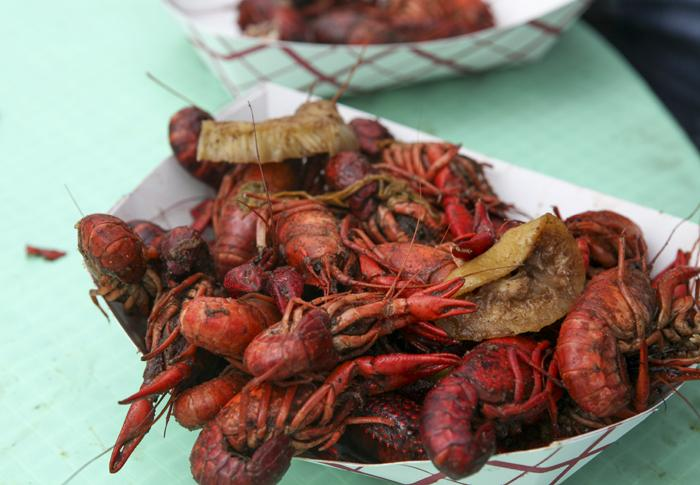 Crawfish. Just crawfish.