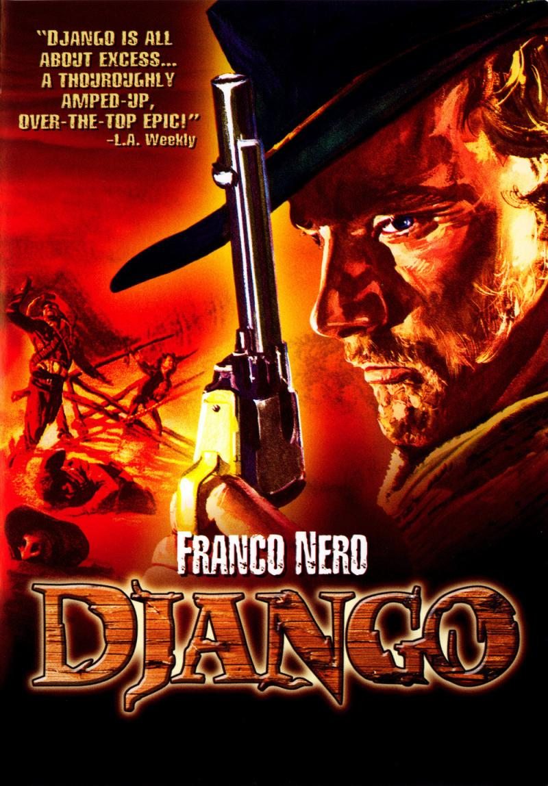 The Original 'Django' movie poster
