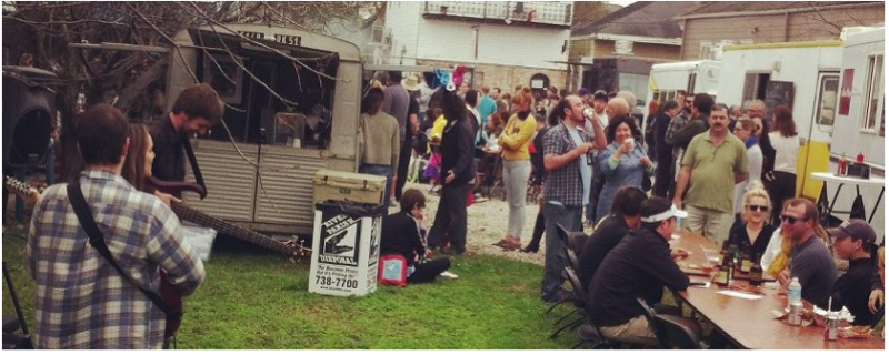A My House NOLA Food Truck party