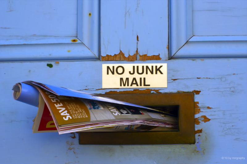 Junk mail: more harmful than you think