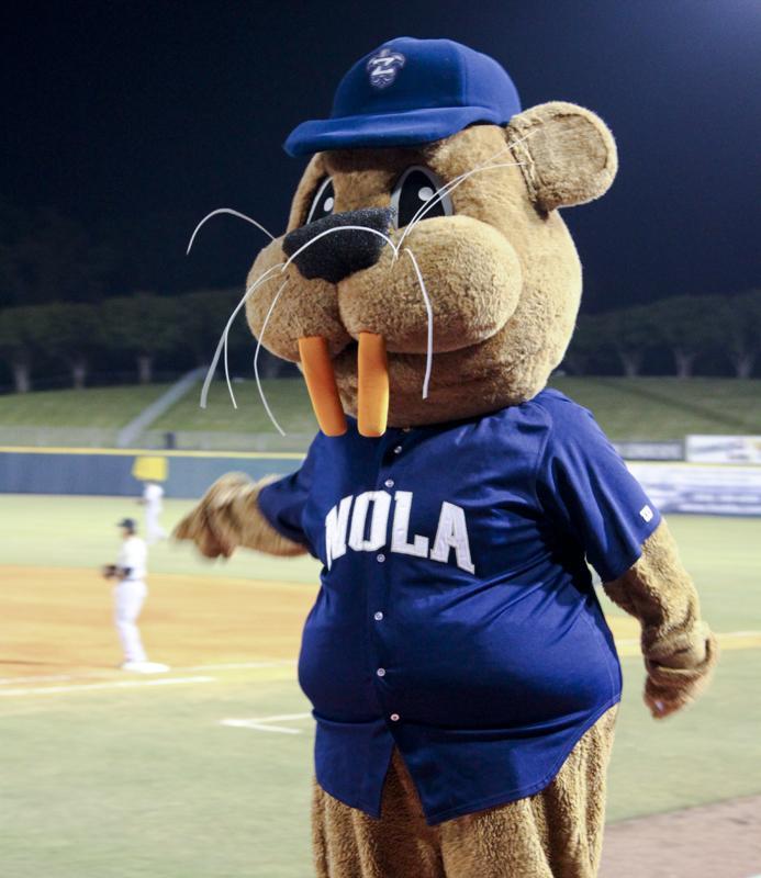 Boudreaux the mascot.