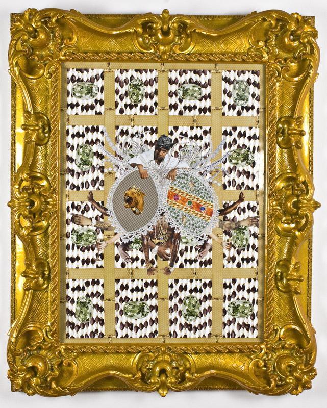 "Artist Rashaad Newsome's ""Duke of NOLA"" collage."