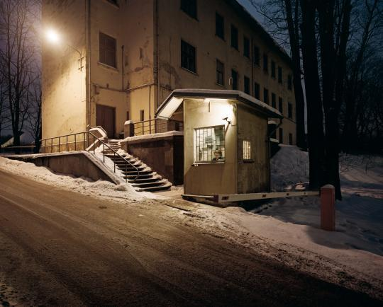 Photographer Reinis Hofmanis documents the rise of Latvia's capital city through guard booths, in his series, Territory.