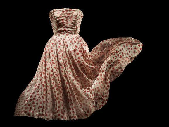 A Christian Dior design.