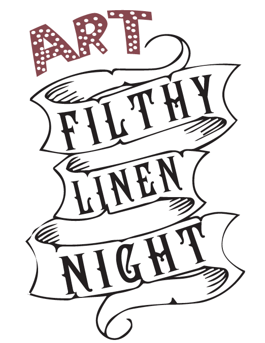 Filthy Linen Night's official Logo.