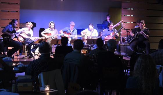 A Jazz at the Sandbar performance from 2012.