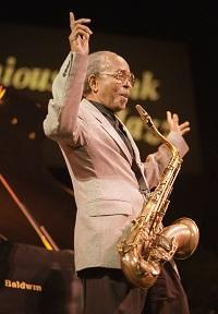 Saxophonist and bandleader Jimmy Heath