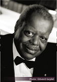 Piano master Oscar Peterson