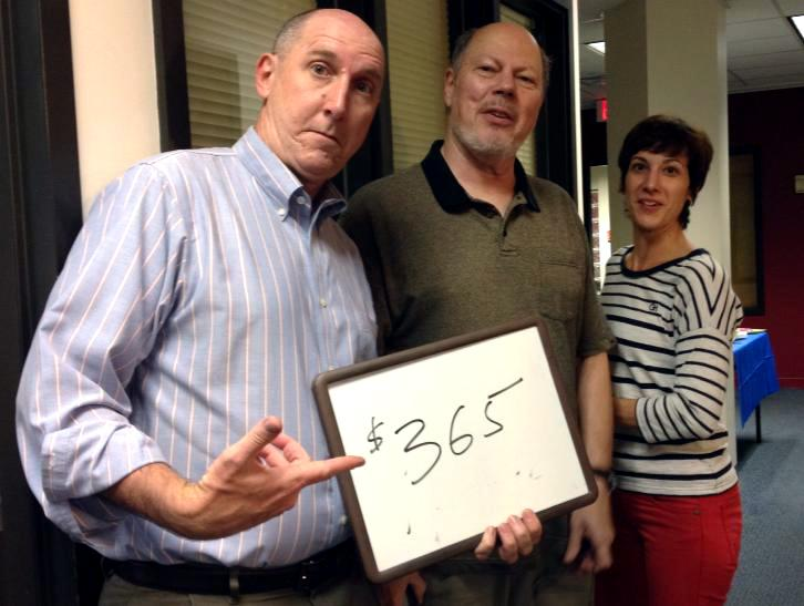 Paul, Ron and Eve know how easy it is... Just $30.42 a month!