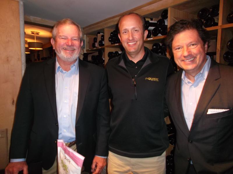 John Koerner, Charles Allen and Peter Ricchiuti.