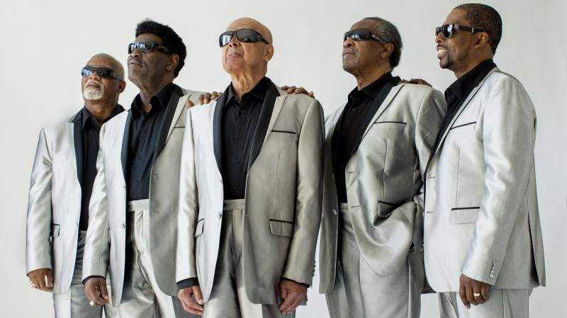 I'll Find a Way is the latest album in The Blind Boys of Alabama's seven-decade run. Left to right: Ricky McKinnie, Paul Beasley, Jimmy Carter, Ben Moore, Joey Williams.