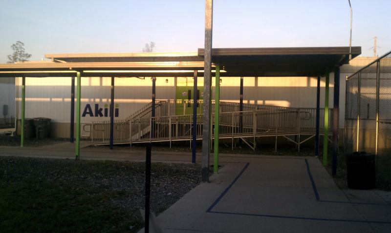 After several years in trailers, Akili's classrooms began to leak.