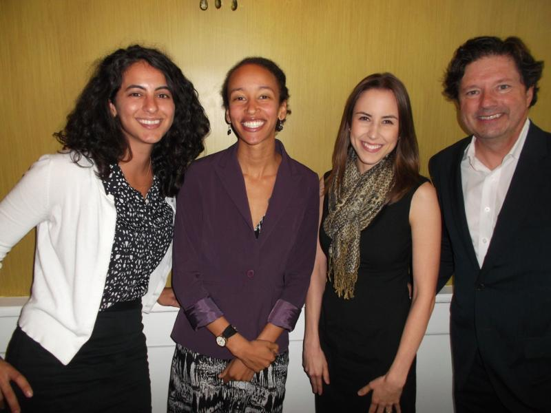 Dana Keren, Latona Giwa, Angelle Missios and Peter Ricchiuti.