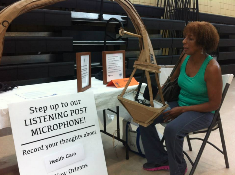 The Listening Post visited a health fair in Tremé to hear what people have to say about healthcare in the city.