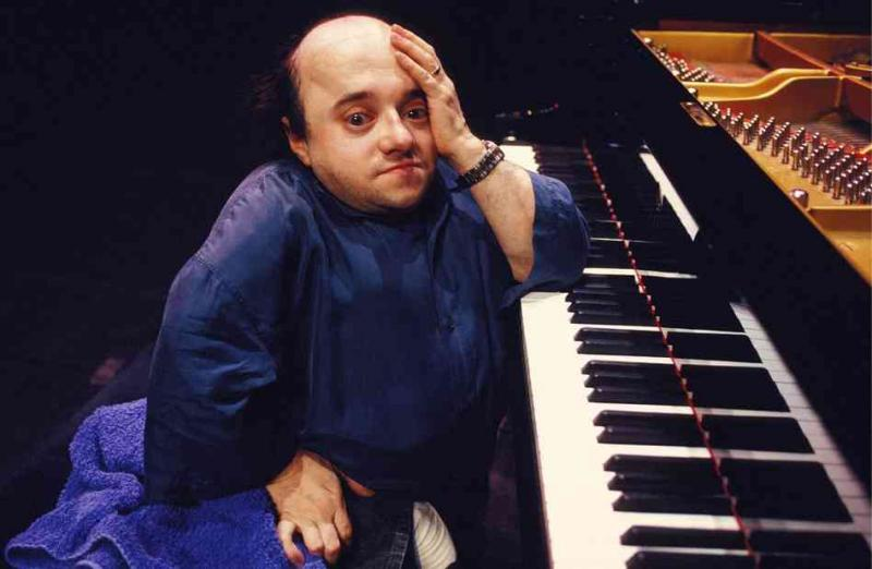 Piano virtuoso Michel Petrucciani