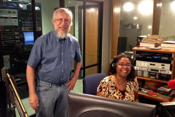 Fred Kasten and Diane Mack, helping listeners support public radio in New Orleans. What's that number again? It's 800-286-7002