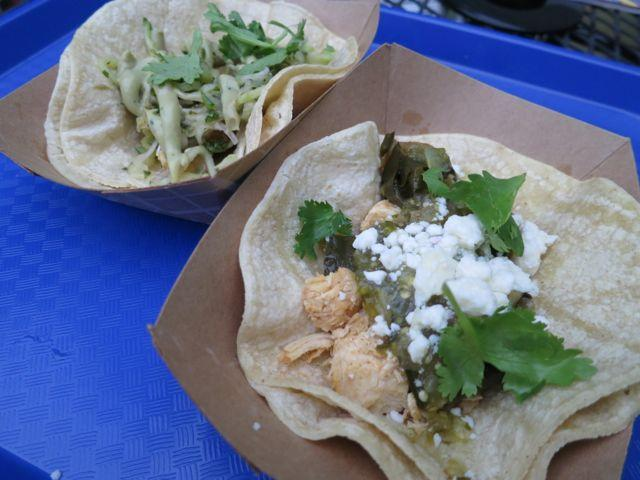 A sampling of snacks from the Bywater's Twilight Tacos.