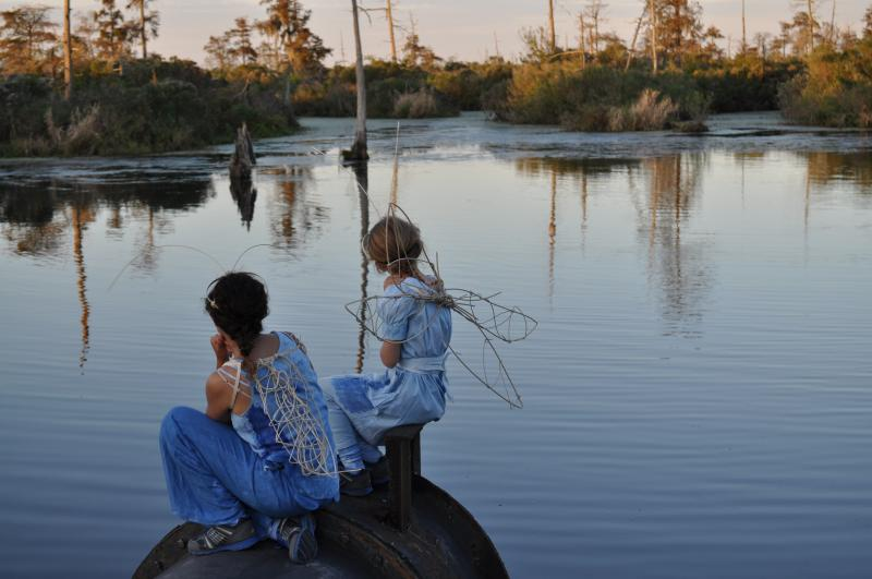 Two 'lagoon bugs' on the set of Cry You One