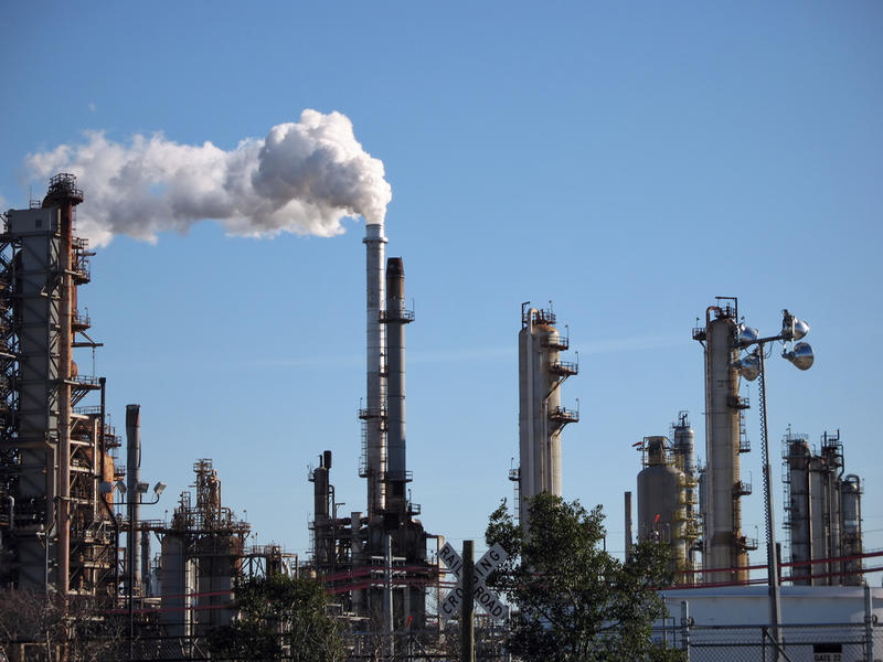An oil refinery in Chalmette, La.