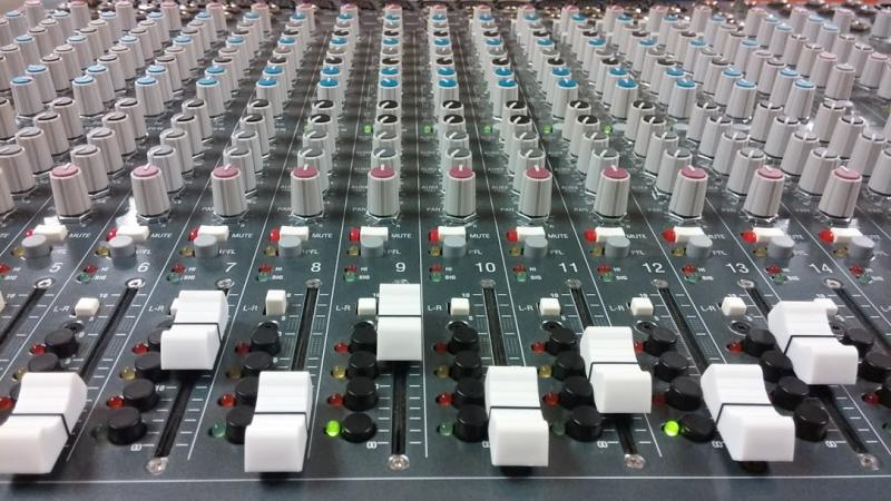 The NOYSE sound board.
