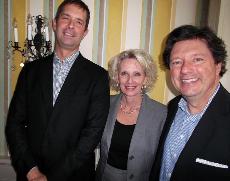 Cam Marston, Lola Lass and Peter Ricchiuti.