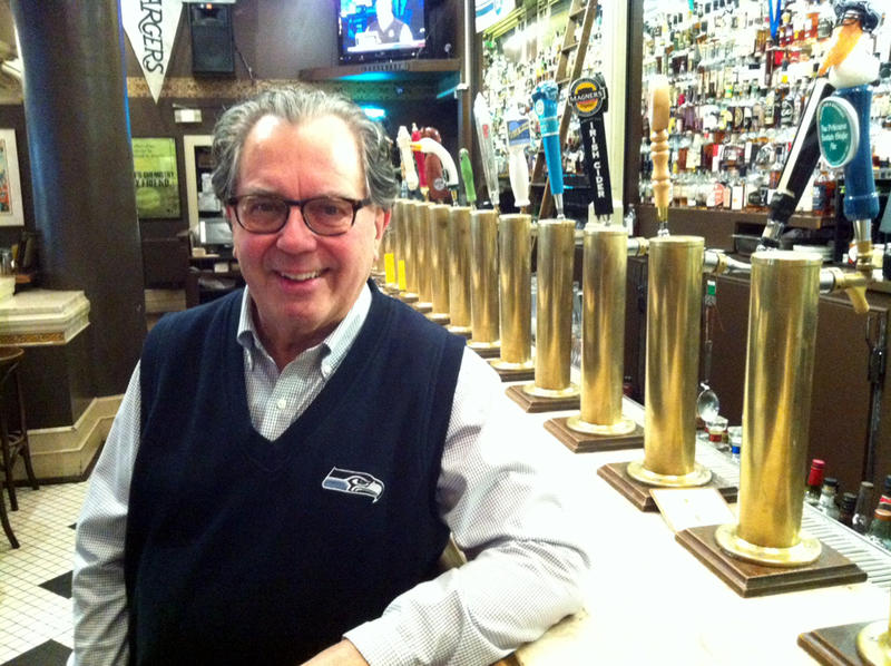 Mick McHugh owns F.X. McRory's, about a block from CenturyLink Field in Seattle, where Saturday's matchup between the Saints and the Seahawks will take place.