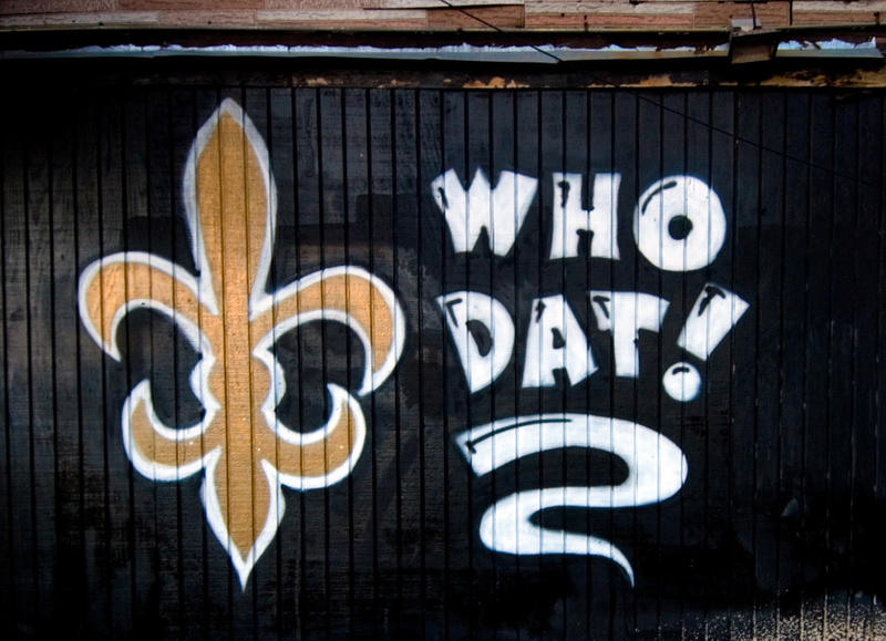 Who Dat say dey gonna beat dem Saints?!