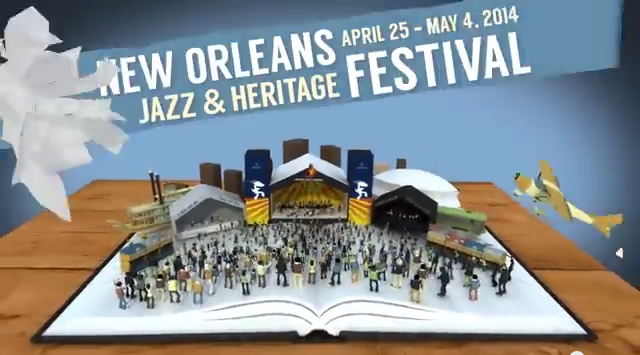 The full 2014 New Orleans Jazz and Heritage Festival schedule was released today.