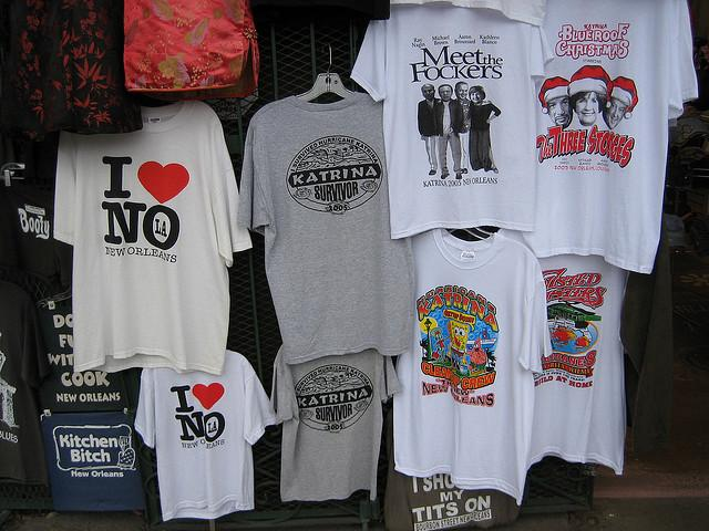 French Quarter T-shirt shops could be operating in violation of city ordinances.