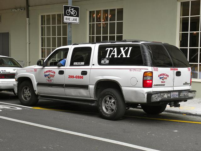 Taxi and limo companies in New Orleans have resisted competition by Uber, a smartphone app that connects drivers with riders.