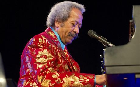 Hall-of-Fame New Orleans songwriter Allen Toussaint.
