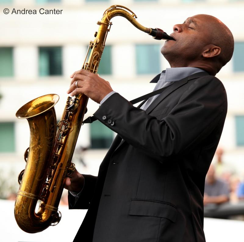 New Orleans saxophone great Branford Marsalis.