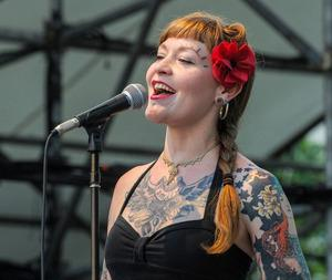 New Orleans singer Meschiya Lake