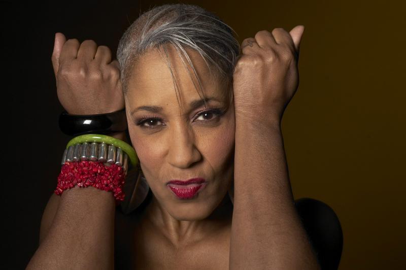 Jazz singer Rene Marie.