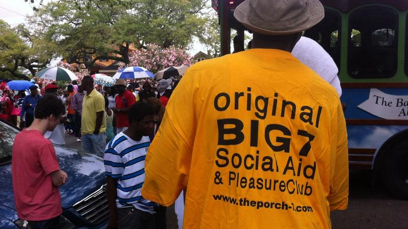 The Original Big 7 Social Aid and Pleasure club celebrated Mother's Day this year with its usual second line parade, despite last year's shooting.