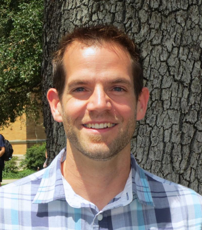 Matthew Chatfield is Project Coordinator for Tulane's new riverfront campus.