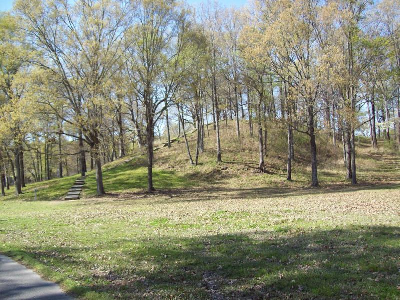 Mound A at Poverty Point, LA, the state's first and only World Heritage Site.