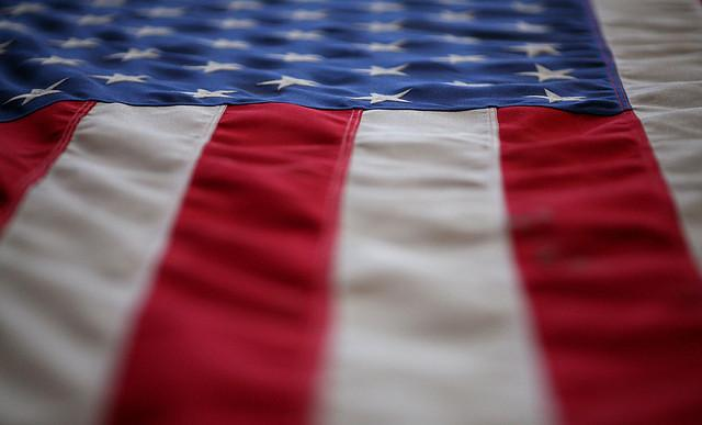 Allied Materials & Equipment in Bogalusa manufactures US flags for government agencies.