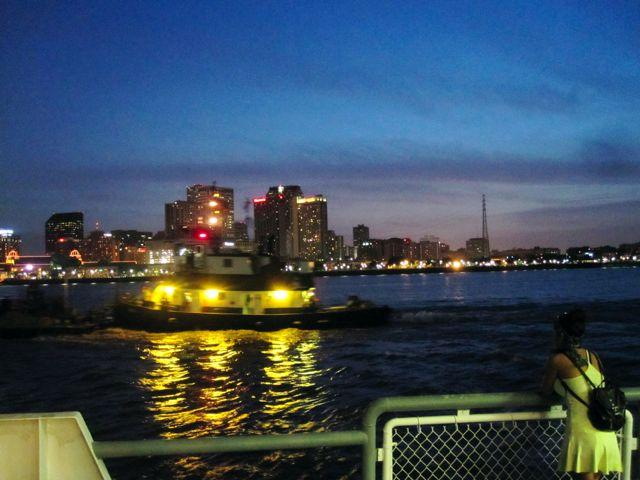 Longer hours for ferry service between Canal Street and Algiers Point expands opportunities to experience the river and a historic neighborhood..