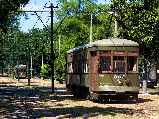 Image result for St. Charles streetcar