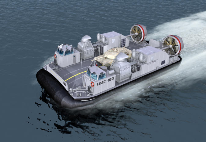 Textron Systems New Orleans will build the Navy's newest, more efficient hovercraft.