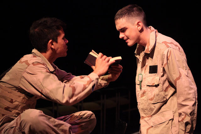 """A UNO production of """"Bengal Tiger at the Baghdad Zoo"""" was the only play from Louisiana selected to be performed at the prestigious Kennedy Center American College Theater Festival."""