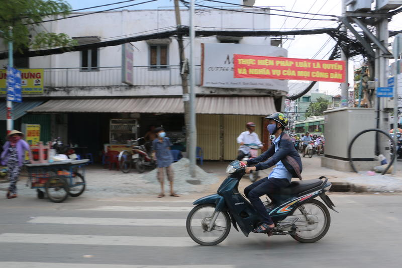 Ho Chi Minh City's population is expanding rapidly at the same time as climate change places stress on its infrastructure.