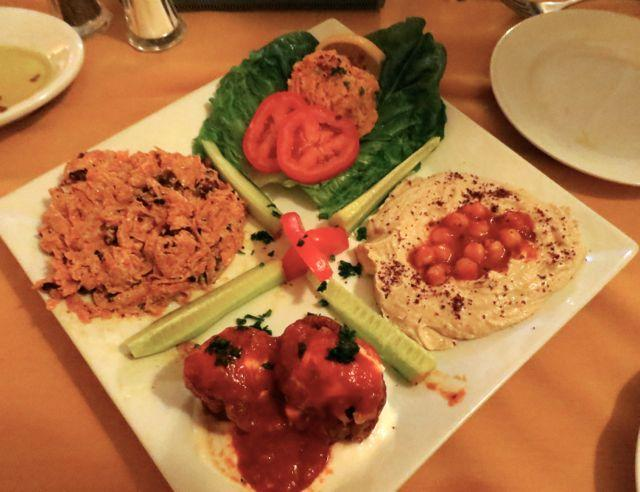 A sampling of traditional Turkish flavors at the Uptown restaurant Mezze.