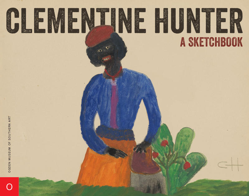 Cover of Clementine Hunter sketchbook