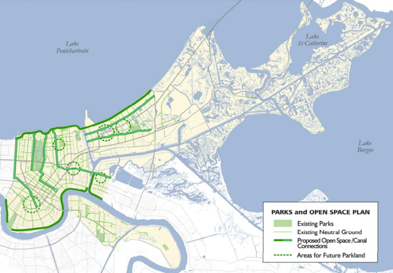 Bring New Orleans Back Commission Urban Planning Committee -- Action Plan for New Orleans: The New American City, Jan. 11, 2006.