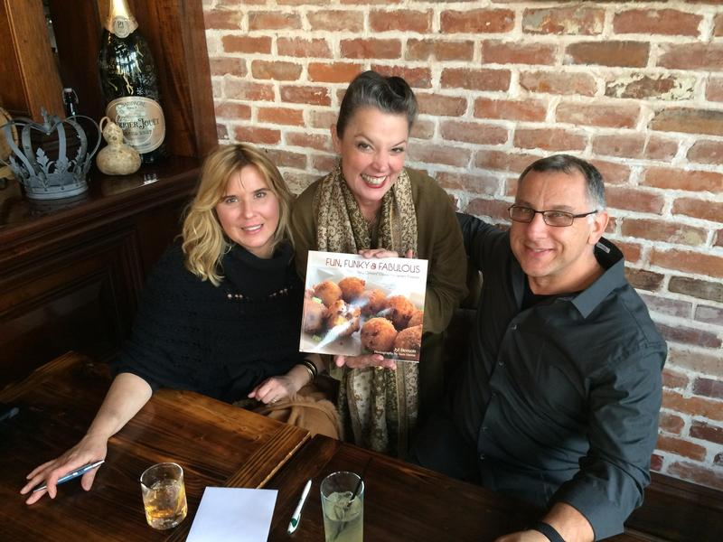 "Author Jyl Benson & photographer Sam Hanna discuss the importance of collaboration and creative energy when working on ""Fun, Funky and Fabulous: New Orleans' Casual Restaurant Recipes."""