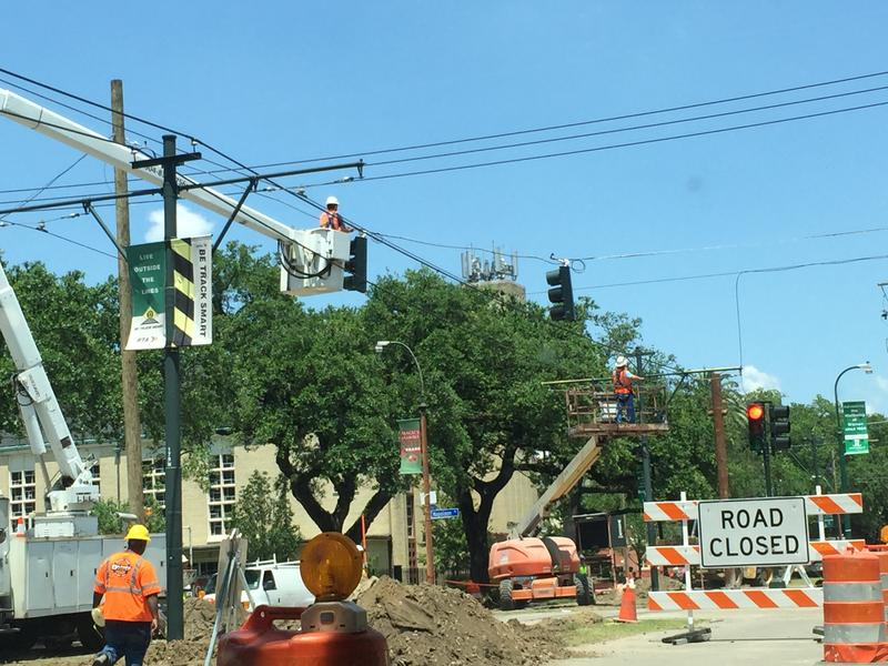 New Orleans has seen lots of infrastructure construction since the flood.