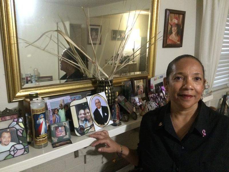 New Orleans native Cassandra Cousin left because of Katrina and has a built a new life in Los Angeles.