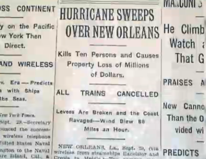 The Great Storm of 1915